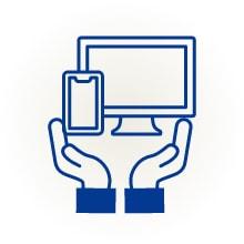 HP、名刺、パンフレット、印鑑作成サポート